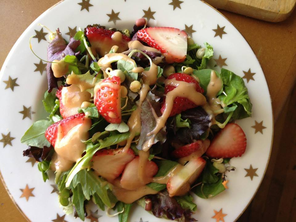 Summer Stawberry Salad