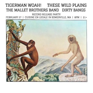 Tigerman WOAH Record Release Party @ Cuisine en Locale | Somerville | Massachusetts | United States