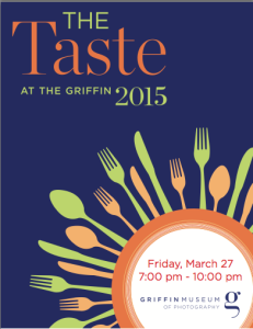 The Taste at the Griffin 2015 @ Griffin Museum of Photography | Winchester | Massachusetts | United States